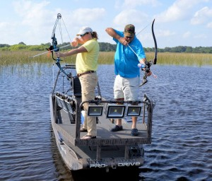 Orlando bowfishing and alligator hunting guide for Bow fishing platform